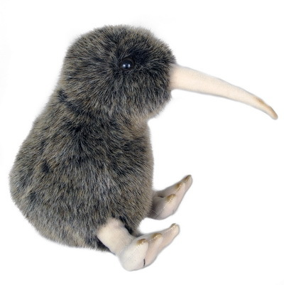 Natures Kiwi with Sound 12cm Soft Toy