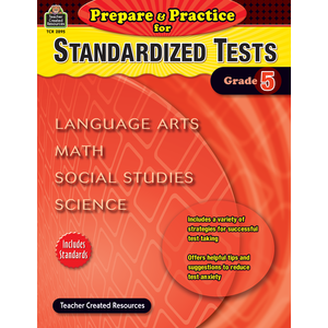 TCR 2895 PREPARE AND PRACTICE FOR STANDARDIZED TESTS GRADE 5