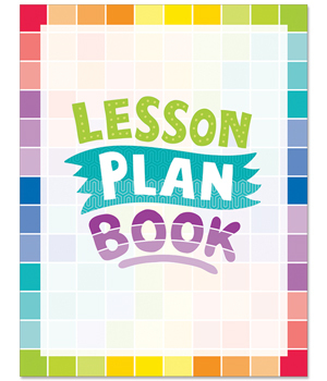 CTP 1403 PAINTED PALETTE LESSON PLAN BOOK