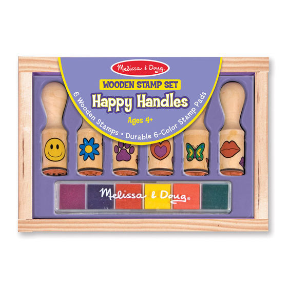 MD 2407 HAPPY HANDLE STAMP SET