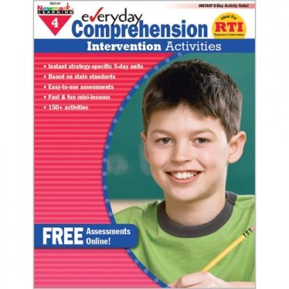 NL 0412 EVERYDAY COMPREHENSION INTERVENTION ACTIVITIES GR. 4