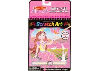 Melissa & Doug Scratch Art Fairy Tale