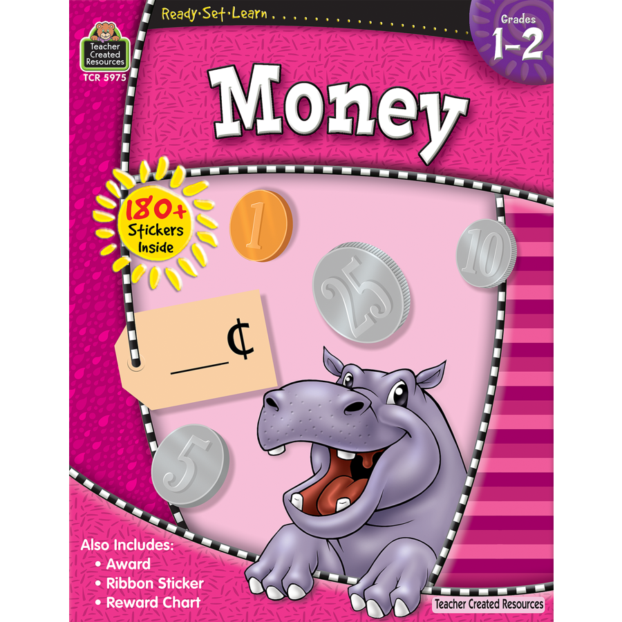 TCR 5975 READY-SET-LEARN MONEY 1-2
