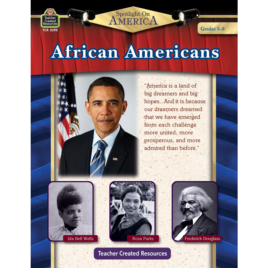 TCR 3395 AFRICAN AMERICANS GRADES 5-8