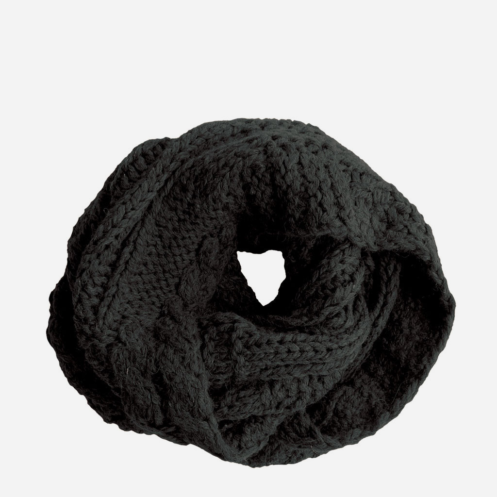 RELLA - MICHELE B. SNOOD IN BLACK