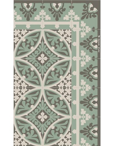 Mint Barcelona Floor Mat