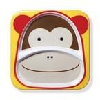 Skip Hop Zoo Melamine Plate, Monkey, One Size