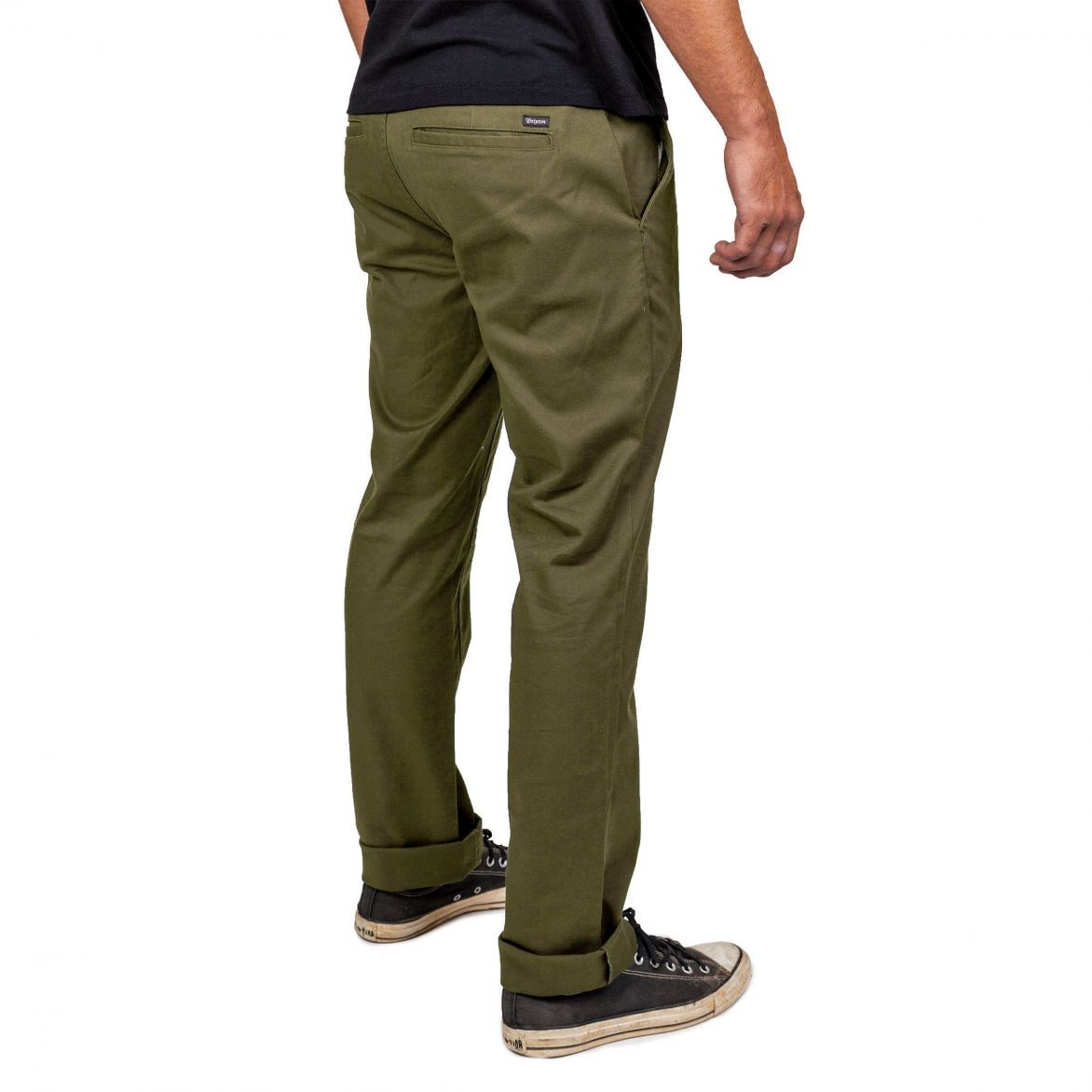 BRIXTON - RESERVE CHINO PANT - OLIVE  5befcbefd80
