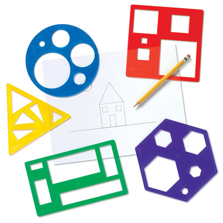 LER 5440 PRIMARY SHAPES TEMPLATE SET