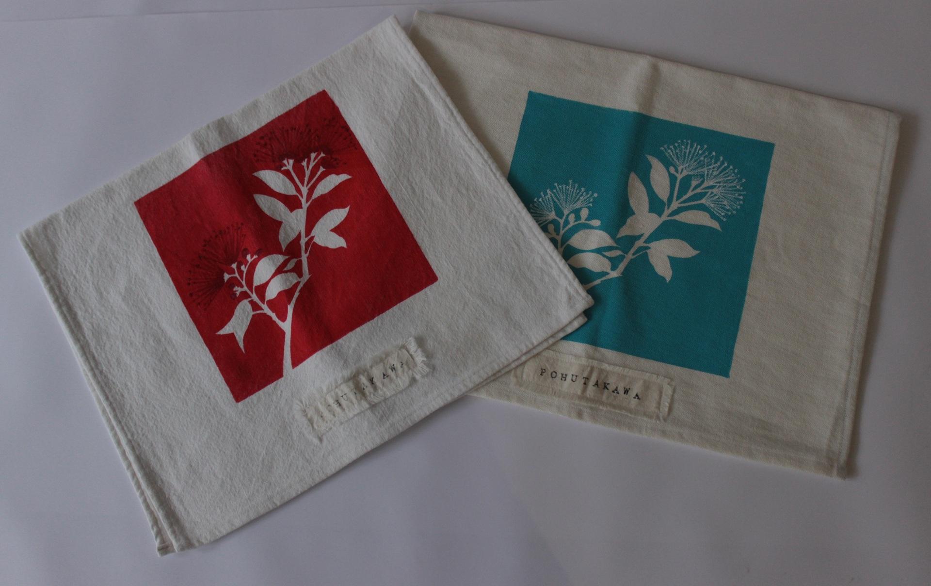 Handmade Printed Teatowels