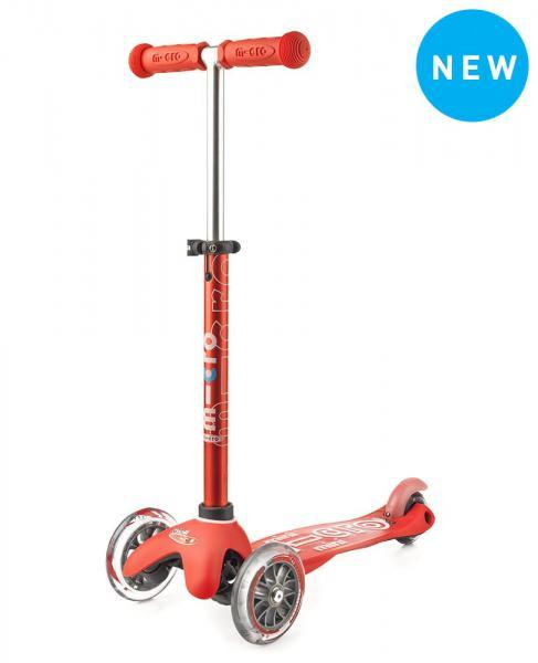 Mini Deluxe Micro Scooter, Red, One Size
