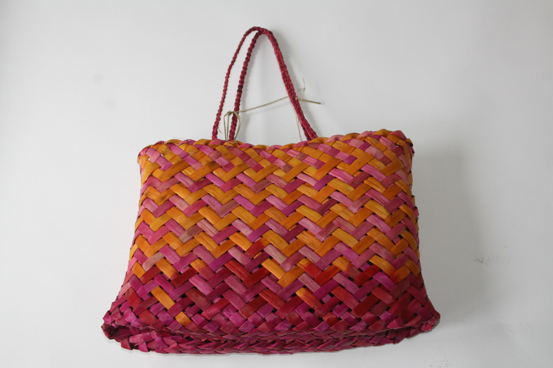 Kete - Rangi T - Magenta and Orange