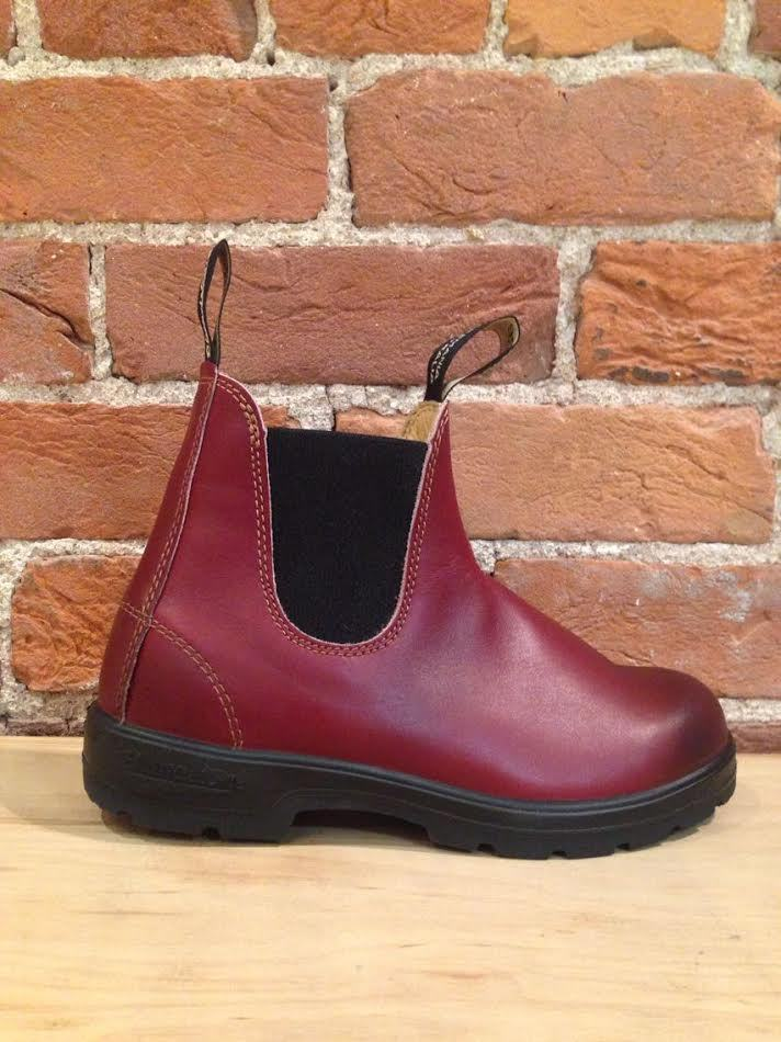 BLUNDSTONE - 1431 LEATHER LINED BURGUNDY RUB