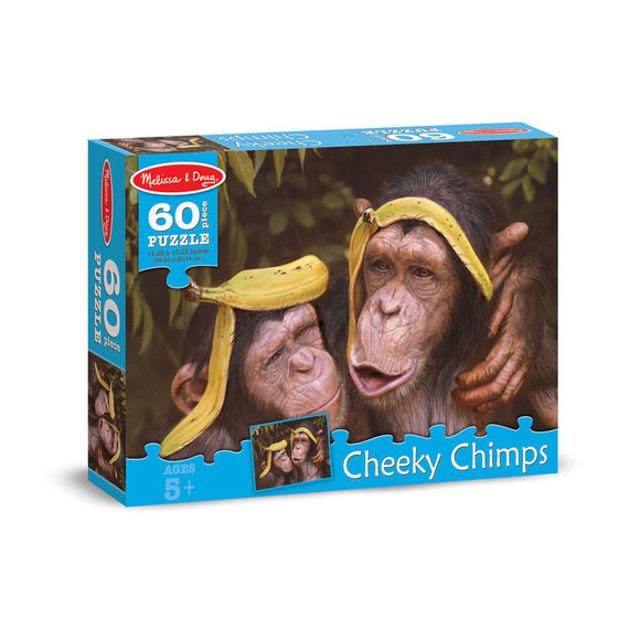 MD 8932 60 PC CHEEKY CHIMPS
