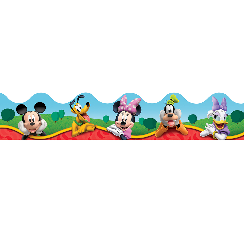 EU 845140 DECO TRIM MICKEY AND FRIENDS BORDER