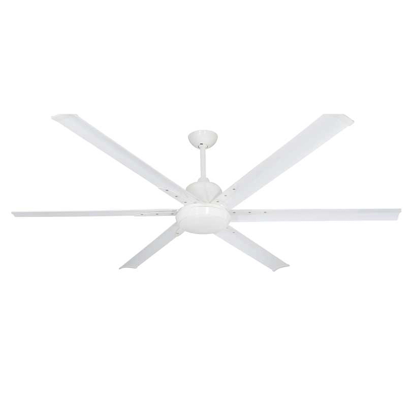 Fan TroposAir Titan 84 in. Indoor/Outdoor Pure White Ceiling Fan with Light
