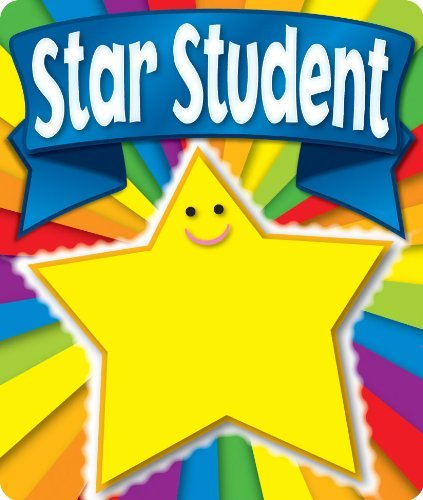 CD 168056 STAR STUDENT BRAGGIN' BADGES