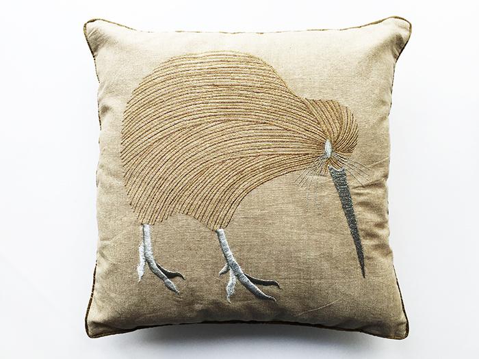 Cushion Lurex Kiwi 35X35