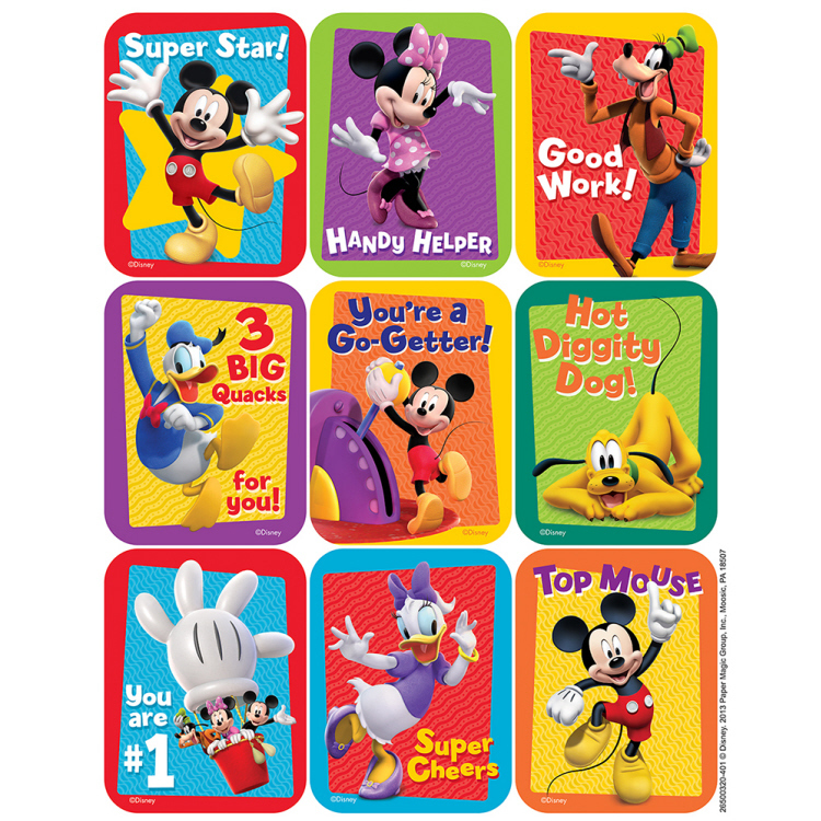 EU 650032 MICKEY MOUSE CLUBHOUSE STICKERS
