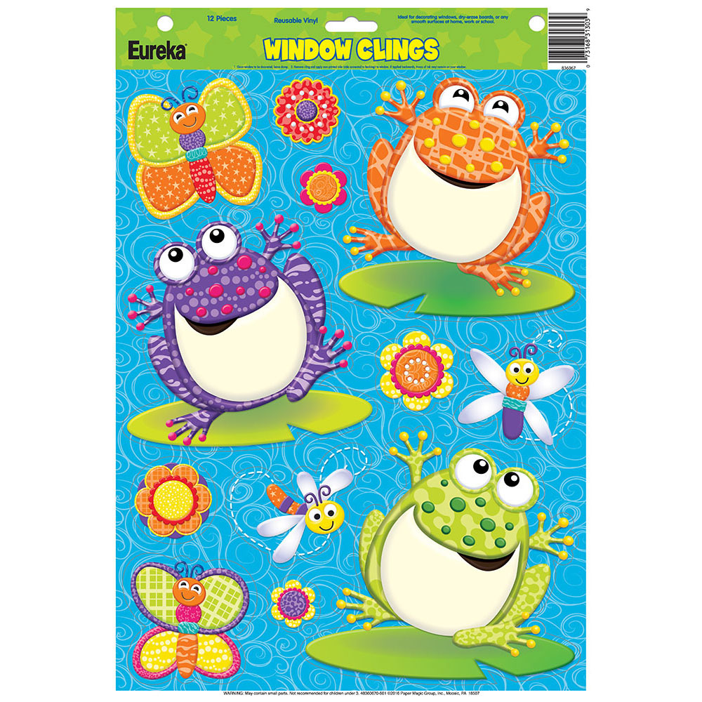 EU 836067 COLOR MY WORLD SPRING WINDOW CLINGS