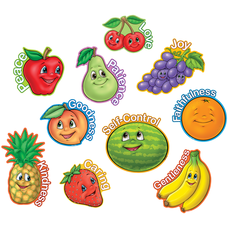 TCR 7066 FRUIT OF THE SPIRIT CUTOUTS