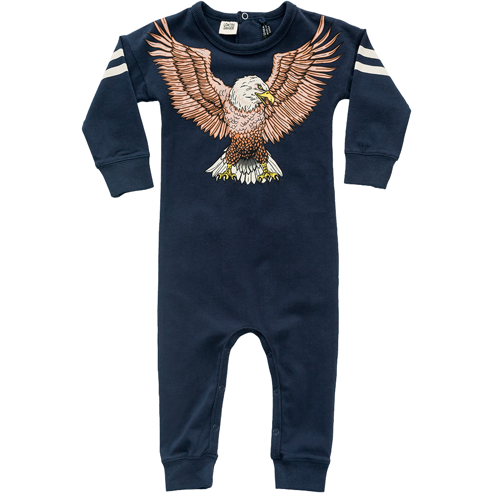 Winged Eagle LS Playsuit