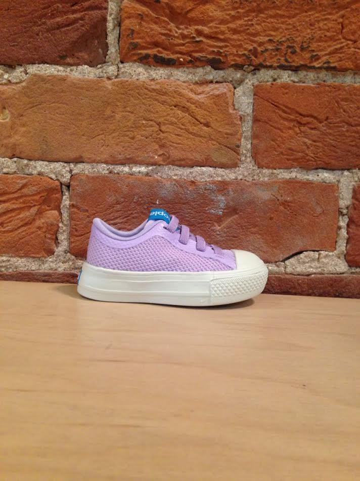 PEOPLE FOOTWEAR - THE PHILLIPS CHILD IN ORIGAMI PURPLE/PICKET WHITE