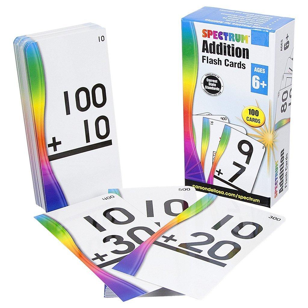 CD 734054 ADDITION FLASH CARDS