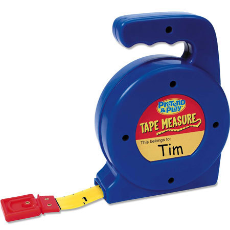LER 9154 PRETEND AND PLAY TAPE MEASURE