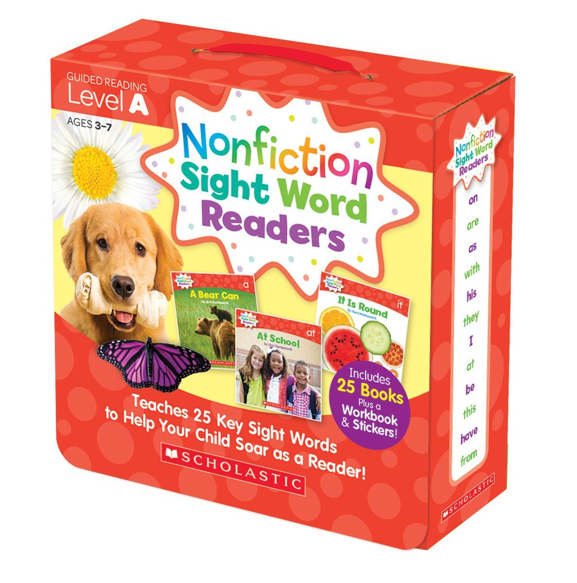 SC 584281 SIGHT WORD READERS LEVEL A