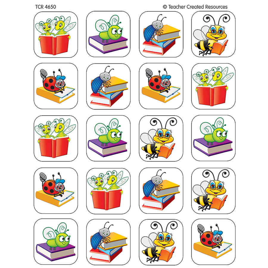 TCR 4650 BUGS STICKER BOOK