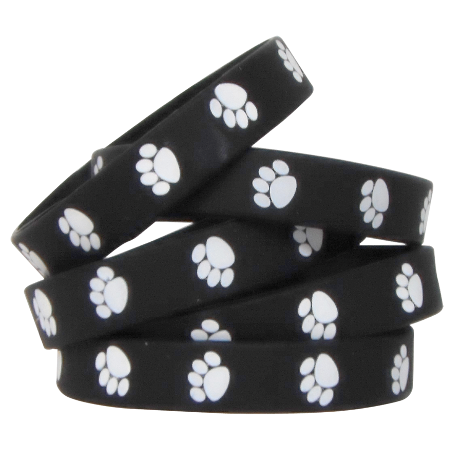TCR 6570 PAW PRINT WRISTBANDS