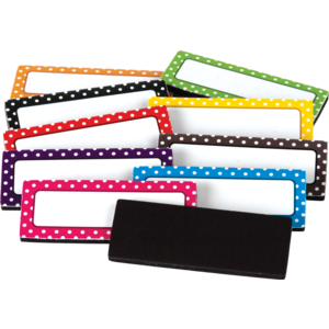 TCR 20650 POLKA DOTS MAGNETIC LABELS