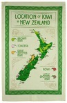 Location of Kiwis Teatowel