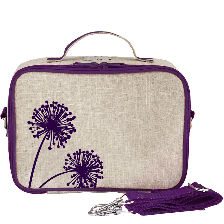 So Young Lunch Bag - Purple Dandelion