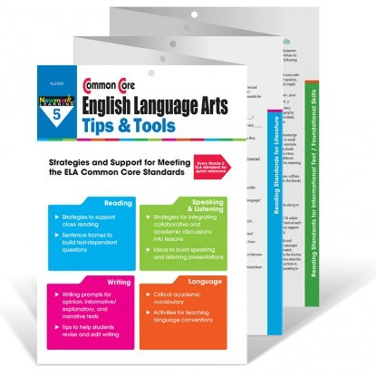 NL 2339 COMMON CORE ENGLISH LANGUAGE ARTS TIPS TOOLS GR. 5
