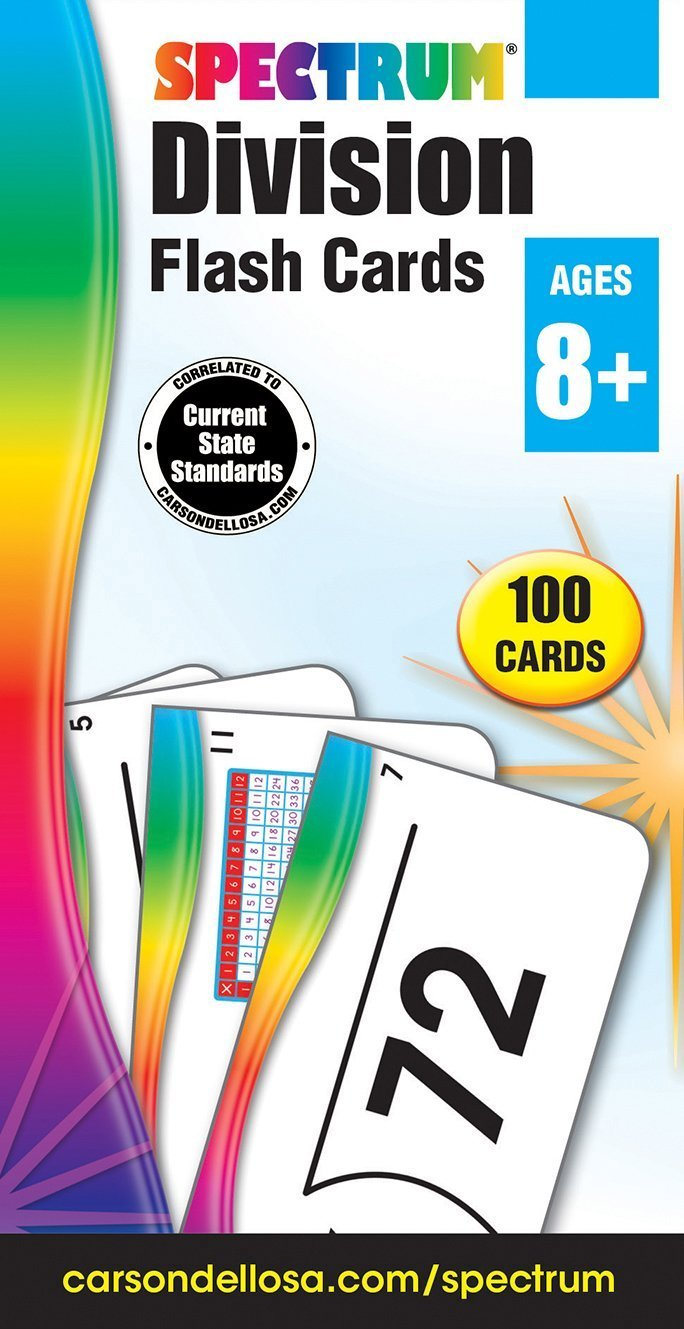 CD 734057 DIVISION FLASH CARDS