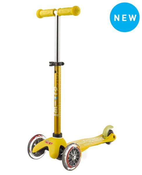 Mini Deluxe Micro Scooter, Yel, One Size