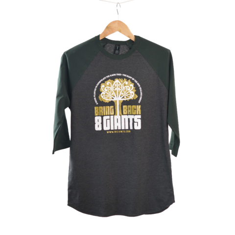 8 Giants Raglan T-Shirt