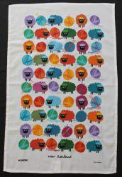 Woolly Brights Teatowel