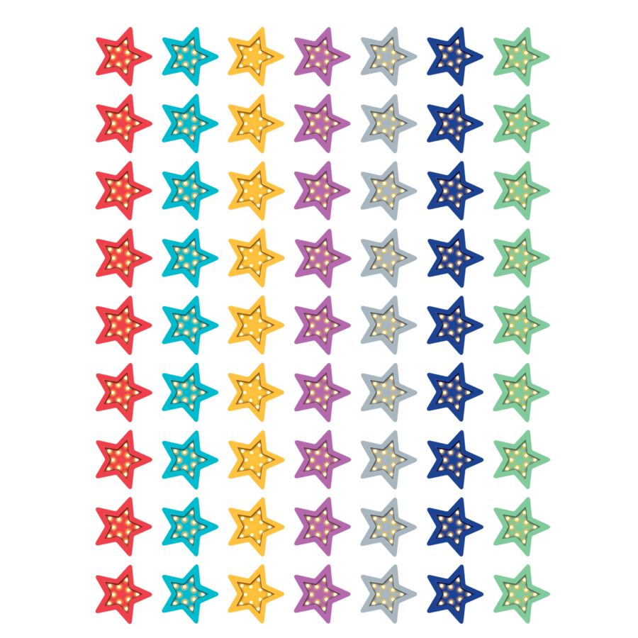 TCR 5441 MARQUEE STARS MINI STICKERS