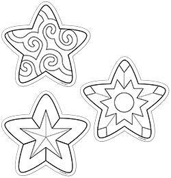 CTP 5847 COLOR ME STARS CUTOUTS