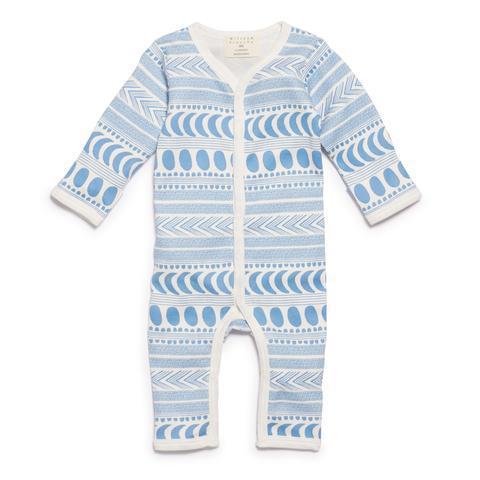 WF Moon Aztec LS Growsuit - Blue