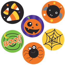 CTP 7170 HALLOWEEN INCENTIVE STICKERS