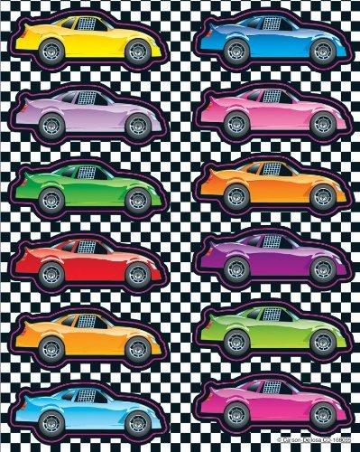 CD 168065 RACE CAR STICKERS