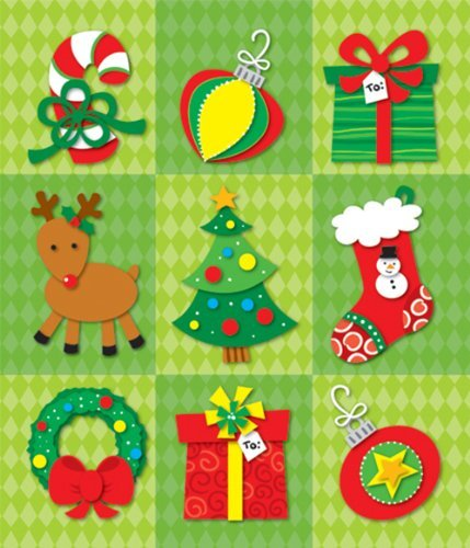 CD 168047 CHRISTMAS PRIZE PACK STICKERS