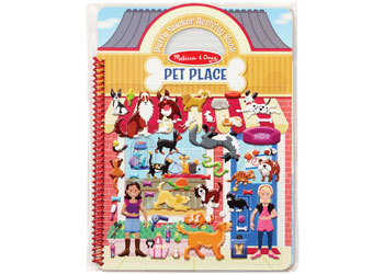 MND Puffy Stickers Pets