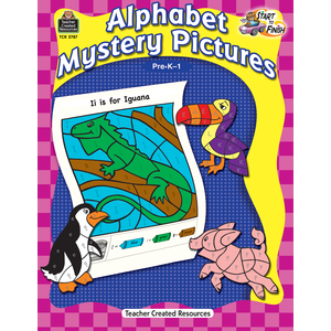 TCR 2787 ALPHABET MYSTERY PICTURES PRE-K-1