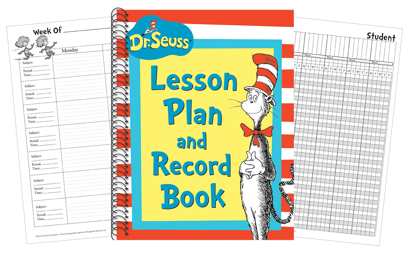 EU 866220 CAT IN HAT LESSON PLAN RECORD BOOK