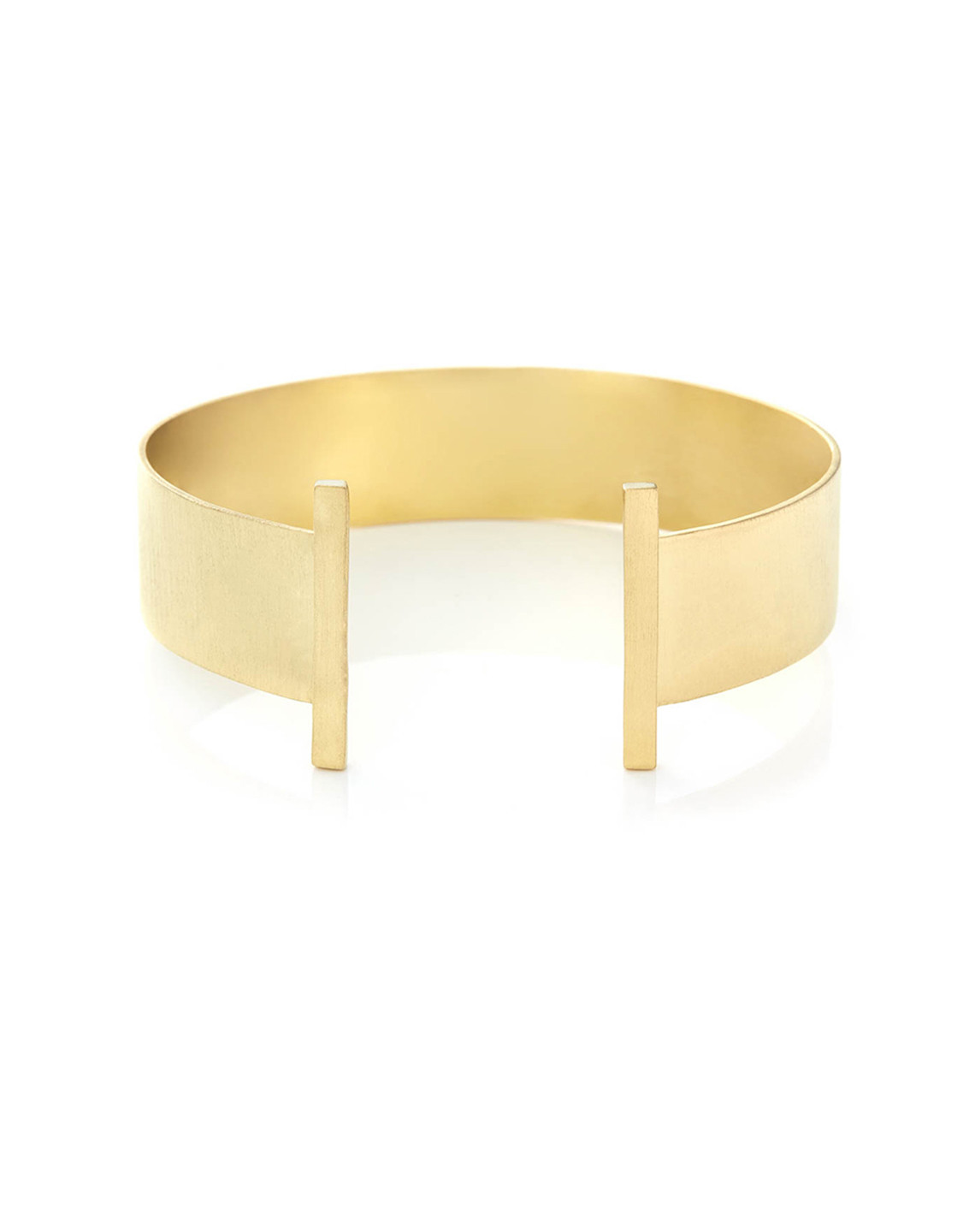 LIEL AND LENTZ - BAR CUFF IN GOLD